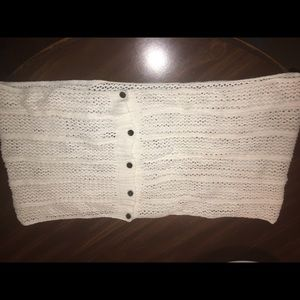 NWOT Button Down Infinity Scarf